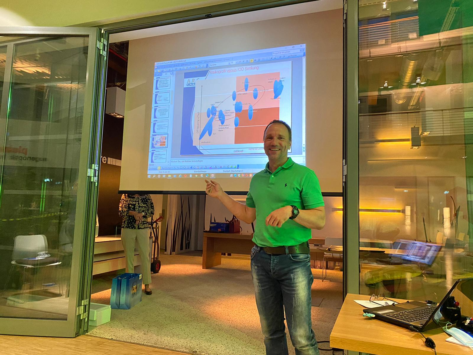 Vision 100 Fortbildungsabend mit Dr. Jens Egli
